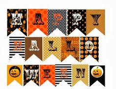 Halloween Banner - Free Printable Download | Halloween banner ...