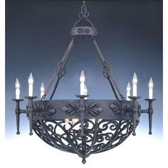 Designers Fountain Alhambra Natural Iron Fourteen Light Chandelier 9189 Ni - All For Decoration Large Rustic Chandeliers, Wrought Iron Chandeliers, Traditional Chandeliers, Chandelier For Sale, Chandelier Lighting, Cabin Lighting, House Lighting, Kitchen Lighting, Contemporary Chandelier