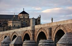 Córdoba, Puente Romano y Mezquita Catedral