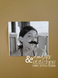 Doodles & Stitches: The Official Mustache Bash