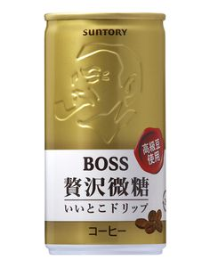 Suntory Boss Coffee, cold and milky