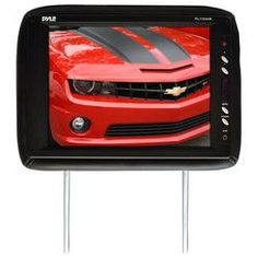Adjustable Headrest w/ Built-In 11.3'' TFT LCD Monitor and IR Transmitter