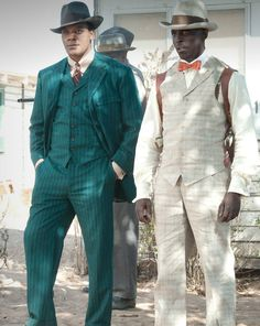 Boardwalk Empire on HBO. Chalky and Purnsley. Sharp Dressed Man, Well Dressed Men, Terence Winter, Suit Fashion, Mens Fashion, Suits Tv Shows, Boardwalk Empire, Suit Up, Empire Style
