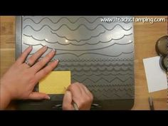 http://www.iteachstamping.com - Learn one of my favorite tips for how to use the Borders Scoring Plate with your Simply Scored from Stampin' Up, perfect for greeting card making and for scrapbooking - http://youtu.be/ti85sx0JqiU.