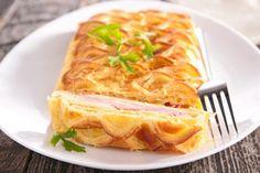 Feuilleté au jambon : Recette de Feuilleté au jambon - Marmiton
