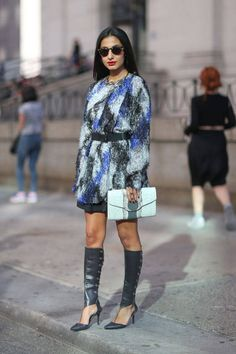 Tomorrow kicks of New York Fashion Week! We're looking back at all of our favorite street style looks from last season's shows
