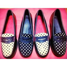 Check out our G. Bass collection on our online shop! Retro Baby, Retro Vintage, Penny Loafers, I Dress, Polka Dots, Footwear, Pennies, Fashion Styles, My Style