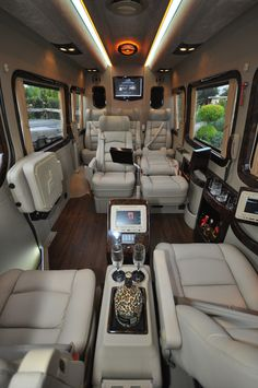 Custom Sprinter Van. CEO Style perfect for corporate transportation. Http://www.celimoline.com for all of your Charleston Limo needs.