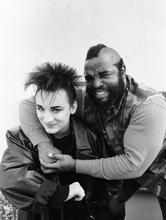 Boy George and Mr T. / A-Team TV Show
