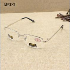1.0 1.5 2.0 2.5 3.0 3.5 4.0 Easy To Repair Rimless Classic Style Glass Lenses Boxed Reading Glasses Plain Mirror Men Women Unisex Eyewear 0 Apparel Accessories Women's Reading Glasses
