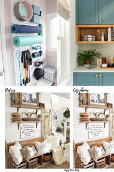 Learn how to set up a small home gym on a small budget using affordable storage solutions and smart layout planning, plus gym makeover inspiration.