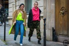 STYLE DU MONDE / Paris Fashion Week Fall 2017 Street Style: Brigitte Chartrand and Elizabeth Clark  // #Fashion, #FashionBlog, #FashionBlogger, #Ootd, #OutfitOfTheDay, #StreetStyle, #Style
