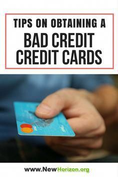Tips On Obtaining A Bad Credit Credit Card