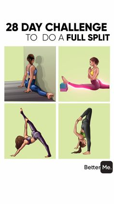 Easy answer - the yoga workout that helps you to become flexible and slim is right below! You need 30 days to see visible results! Try and enjoy! A perfect body is not the only dream but reality! Gymnastics Videos, Gymnastics Workout, Yoga Videos, Workout Videos, Yoga Fitness, Yoga Training, Kettlebell Training, Workout Bauch, Flexibility Workout