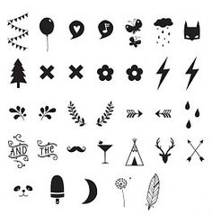"""Number the stars characters: a little lovely company """"numbers & sy Small Symbol Tattoos, Small Rib Tattoos, Small Sister Tattoos, Small Quote Tattoos, Small Tattoos With Meaning, Small Tattoos For Guys, Symbolic Tattoos, Decoration Design, Deco Design"""