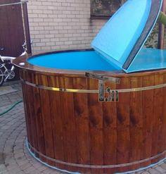 Badefass mit sprudel aus kunststoff holz bauen timberin badetonne badefass hotpot f r haus - Ontwerp nordique ...