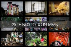 25 Awesome Things to Do in Japan We spent four weeks exploring Central Japan, a crazy month that lived up to both all and none of our expectations at the same time. That's Japan. Anyway after that we've pulled together our Top 25 Awesome Ideas for Things To Do in Japan. Do all of these and not only will you be exhausted, you'll have a good feel for the contradictions of this incredible destination. http://www.familyadventureproject.org/2015/05/top-25-things-to-do-in-japan/