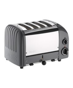Take a look at this Cobble Gray Classic Four-Slice Toaster by Dualit on #zulily today!