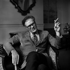 Robert Lowell by Jane Bown (1967)