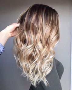50 Ideas for Light Brown Hair with Highlights and Lowlights Bronde Balayage Ombre Highlights Ombre Hair Color, Blonde Ombre, Blonde Balayage, Blonde With Pink, Neutral Blonde, Ombré Hair, Hair Yarn, Perm Hair, Long Layered Hair