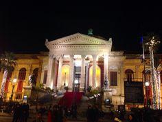 Teatro Massimo, Palermo, Sicilia