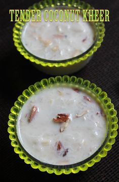 Tender Coconut Kheer Recipe Elaneer Payasam Recipe - Tender Coconut Kheer Is On Menu Today I Am Telling You It Is One Of The Most Delicious And Simple Kheer You Could Make This Is So Easy To Make Using Condensed Milk And Tender Coconut So Refreshing Indian Dessert Recipes, Indian Sweets, Sweets Recipes, Coconut Recipes Indian, Ramadan Recipes, Juice Recipes, Cheese Recipes, Easy Snacks, Easy Desserts