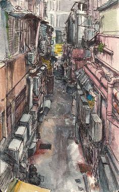 Urban and rural sketches (I) - Adolfo Arranz