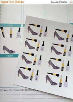 Huge Sale Planner Stickers High Heel Shoes by twiceasnicelettering