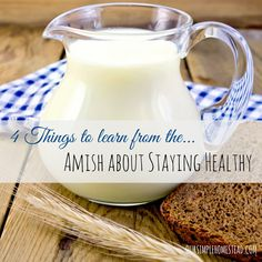 Could their stress-free simple lifestyle be the reason? Here are 4 Things to Learn from the Amish about Staying Healthy.
