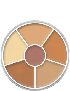 #Kryolan #Dermacolor wheels are great for concealing skin blemishes and discoloration. #IngenueMakeup #TheEngineerGuy