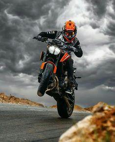 Image may contain: motorcycle, cloud, sky and outdoor Duke Motorcycle, Duke Bike, Motorcycle Style, Ktm Motorcycles, Yamaha Bikes, Beast Mode, Motorbike Drawing, Ktm Supermoto, Ktm Duke 200