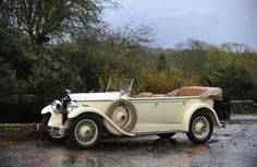 1928 McLaughlin-Buick 496 Tourer custom built for the Prince of Wales, later King Edward VIII and the Duke of Windsor.