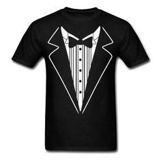 Tuxedo T Shirt Design T-Shirt | Spreadshirt | ID: 9511955