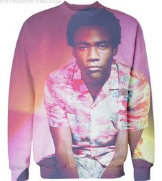 Donald Glover. Childish Gambino. because the internet. Sweatshirt. yis pls
