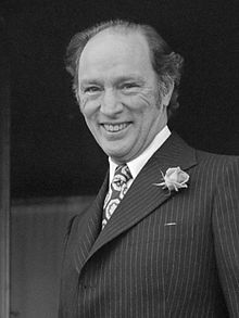 Joseph Philippe Pierre Yves Elliott Trudeau  October 18, 1919 – September 28,  Canadian politician who served as the 15th Prime Minister of Canada from April 20, 1968, to June 4, 1979, and again from March 3, 1980, to June 30, 1984.  Trudeau's most enduring legacy may lie in his contribution to Canadian Nationalism and of pride in Canada in and for itself rather than as a derivative of the British Commonwealth His role in this effort, and his related battles with Quebec on behalf of Canadian…