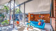 A 1960 Claude Oakland Architects Double A-Frame Atrium model Eichler has just come on the market in the Bay Area, and, apparently, it's a big deal.