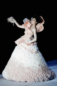Fantasy gowns from  China Fashion Week 2012