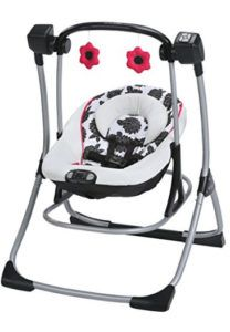 Graco Cozy Duet Baby Swing And Rocker, Azalea. Graco Cozy Duet Baby Swing and Rocker, Azalea Cozy Duet calms and soothes baby two different ways it's a baby rocker and a baby swing, in one! In swing mode, your little one will enjoy four swing speeds. Graco Baby Swing, Baby Stuffed Animals, Baby Cooking, Baby Rocker, Baby Girl Toys, How Big Is Baby, Big Baby, Baby Swings, Baby Supplies