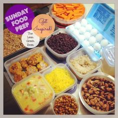Sunday Food Prep Inspiration 63 #healthy #food
