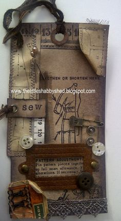 The Little Shabby Shed: All Sewn Up Tag  http://thelittleshabbyshed.blogspot.co.uk/2011/02/all-sewn-up-tag.html#