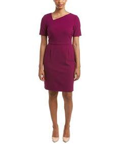 Tahari Asl Petite Sheath Dress $52