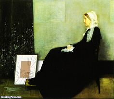 Whistler's Mother's Paintings are Stolen Pictures - Freaking News