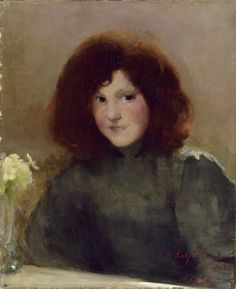 Helene Schjerfbeck「Girl from St Helene Schjerfbeck, Helsinki, Cultural Crafts, Female Painters, Magic Women, Art Society, Redhead Girl, Portraits, Abstract Images