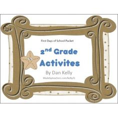 Free.....First Days of School Activities - Made By Teachers