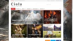 Ciola is a feature-rich Wordpress premium magazine and review theme. It has a sleek design with many unique features, including five blog styles, unlimited colors to customize everything and five styles to show featured images.