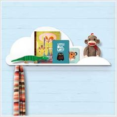 This would be so cute in the lil man's room! #display #shelf #kids