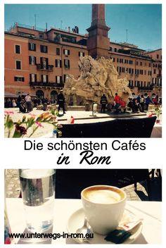 Reisetipp-Rom: Ihr möchtet schön Espresso, Cappuccino oder Latte Macchiato trinken in der Ewigen Stadt? Im Blog habe ich einige Cafés zusammengetragen.