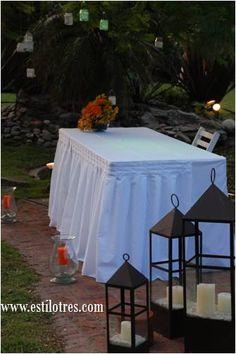 Diseño y ejecución: Estilo Tres - Ambientación de Eventos. www.estilotres.com
