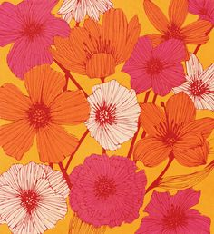 Poster | SUMMER FLOWERS von Tracie Andrews | more posters at http://moreposter.de