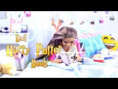 How to Make a Doll Harry Potter Book - EASY Doll Craft - 4K - YouTube